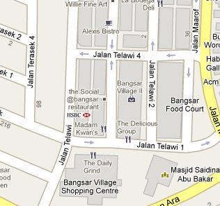 HSBC Amanah Bangsar Branch - BLR MY