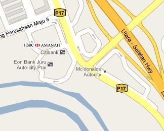 HSBC Bank Autocity, Juru Branch - BLR MY
