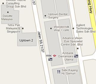HSBC Branch in Damansara Uptown, Petaling Jaya - BLR MY