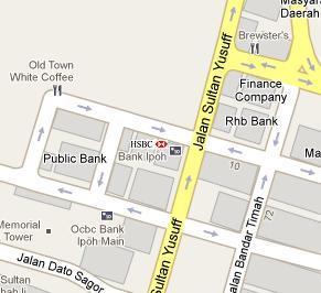HSBC Branch in Ipoh - BLR MY