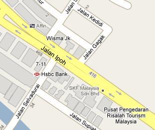 HSBC Bank Jalan Ipoh Branch - BLR MY