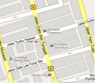 HSBC Branch in Seremban Negeri Sembilan BLRMY