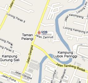 UOB Branch In Alor Setar Kedah BLRMY - Alor setar map